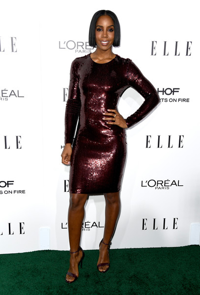Kelly Rowland Sequin Dress