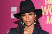 Kelly Rowland Long Braided Hairstyle