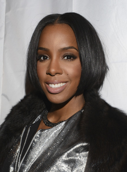 Kelly Rowland Bob [hair,face,hairstyle,eyebrow,black hair,forehead,lip,beauty,long hair,human,maison martin margiela,kelly rowland,mm6,presentation,skylight modern,new york city,mercedes-benz fashion week]