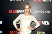 Kelly Rutherford Crewneck Sweater