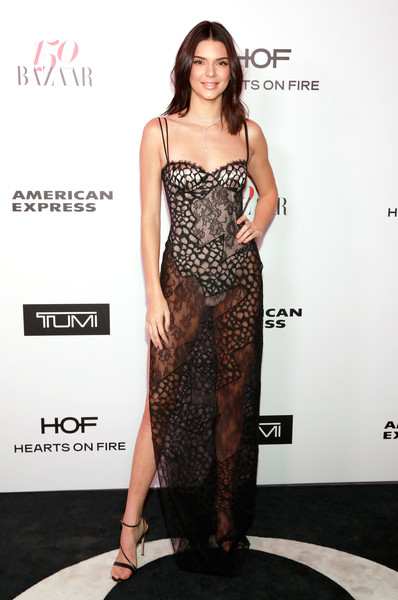 Kendall Jenner Sheer Dress