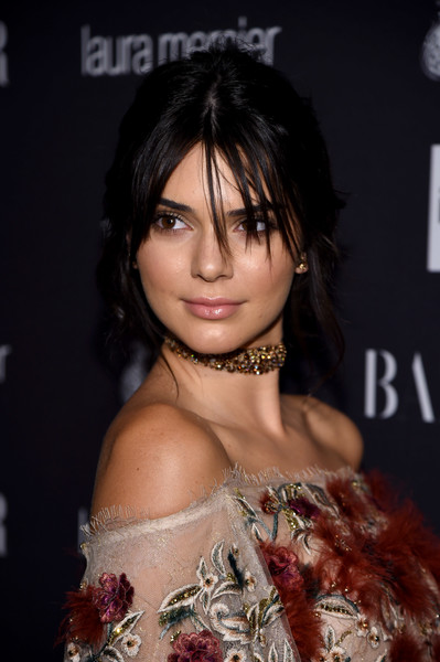 Kendall Jenner Messy Updo