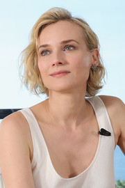 Diane Kruger kept it casual with this short wavy 'do at the Kering Talks Women in Motion event.