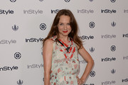 Kerry Condon Print Dress