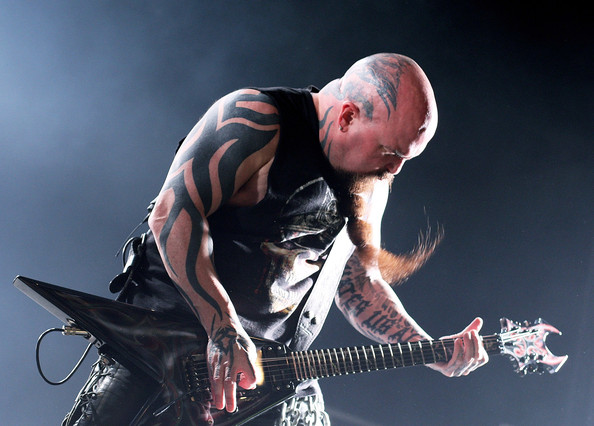 Kerry King Lettering Tattoo - Kerry King Looks - StyleBistro