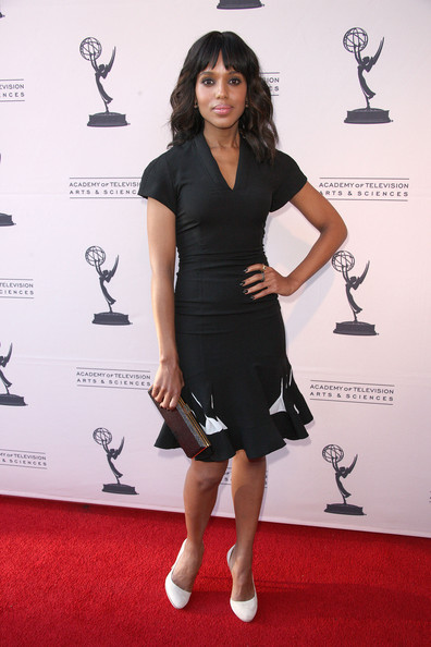 Kerry Washington Little Black Dress
