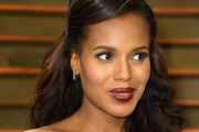 Kerry Washington Half Up Half Down