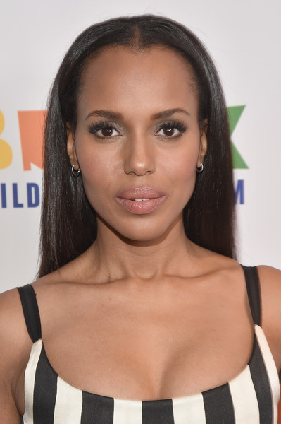 Kerry Washington Long Straight Cut