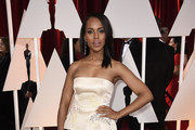 Kerry Washington Strapless Dress