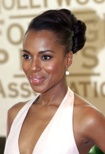 Kerry Washington French Twist