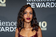 Kerry Washington Velvet Clutch