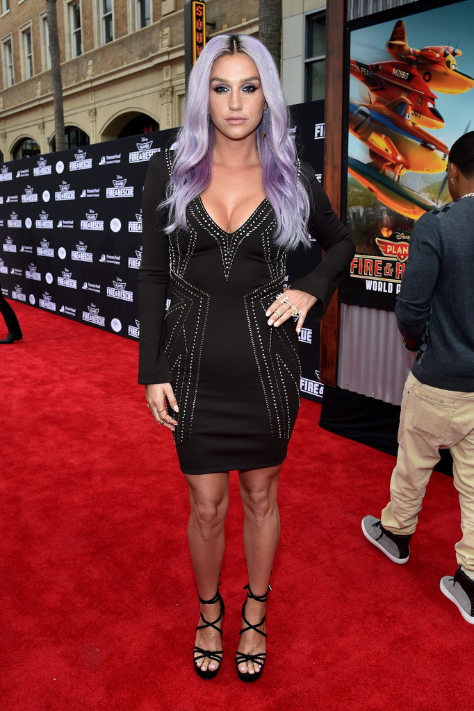 Kesha Little Black Dress Kesha Looks Stylebistro