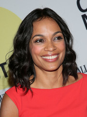 Rosario Dawson looked pretty wearing this wavy hairstyle at the 'Kids' 20th anniversary screening.