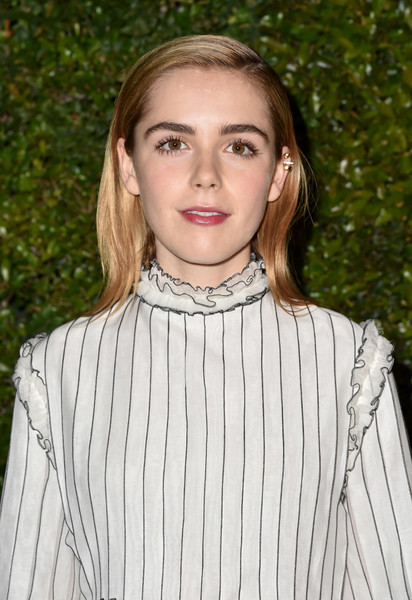 Kiernan Shipka Medium Straight Cut