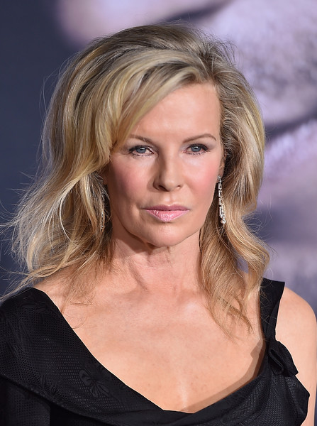 Kim Basinger Medium Wavy Cut with Bangs