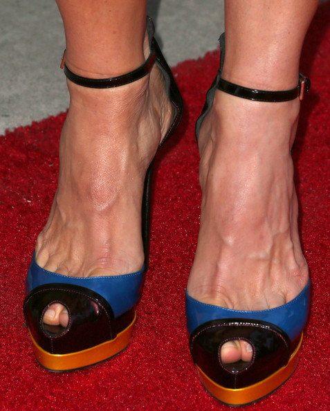 Kim Dickens Peep Toe Pumps