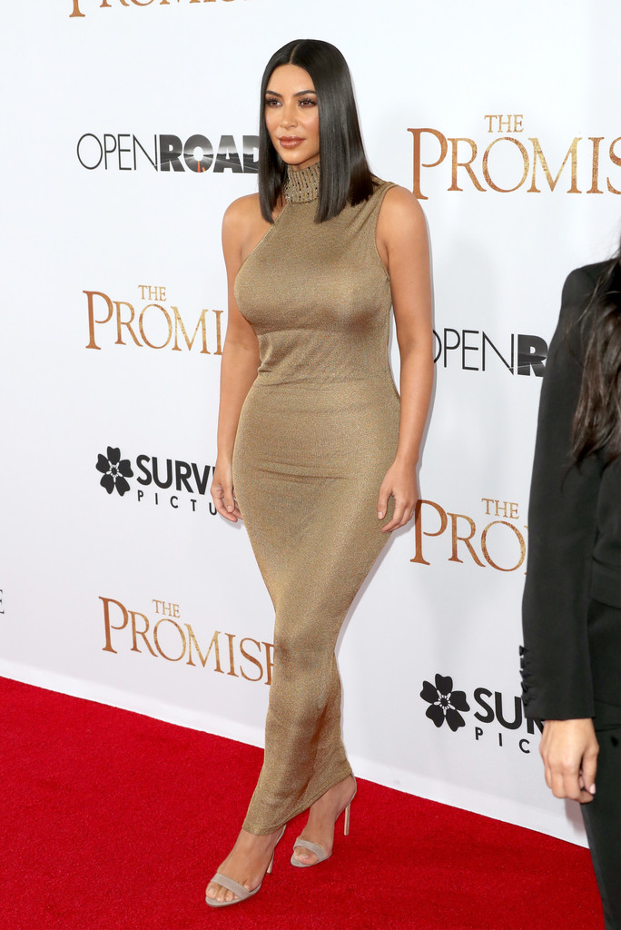 Kim Kardashian Form Fitting Dress Kim Kardashian Looks