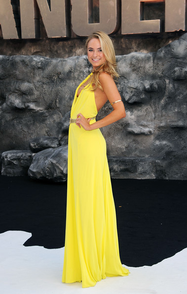 Kimberley Garner Evening Dress