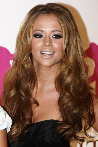 Kimberley Walsh Long Wavy Cut