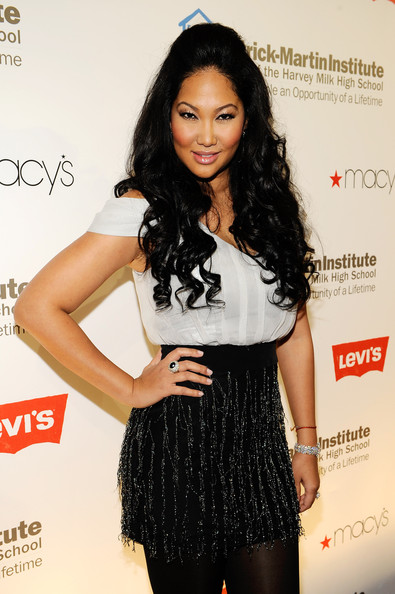 Kimora Lee Simmons Half Up Half Down