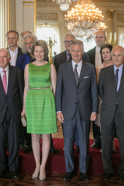 More Pics of Queen Mathilde of Belgium Pumps (1 of 23) - Queen Mathilde of Belgium Lookbook - StyleBistro