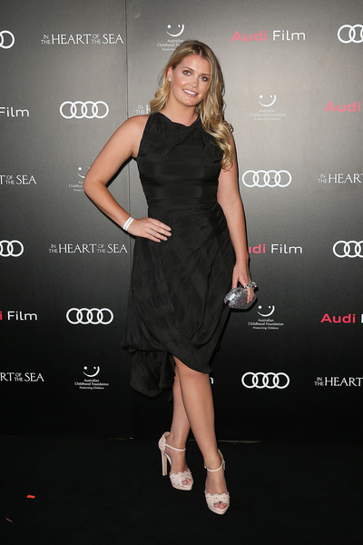 Kitty Spencer Metallic Clutch [in the heart of the sea,clothing,dress,cocktail dress,little black dress,premiere,fashion model,shoulder,fashion,footwear,carpet,cocktail dress,sydney screening - arrivals,dress,dress,wedding dress,kitty spencer,clothing,fashion,charity screening,lady kitty spencer,little black dress,dress,fashion,dolce gabbana,clothing,wedding dress,cocktail dress,ball gown]