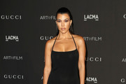 Kourtney Kardashian Halter Dress