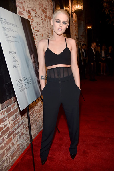 Kristen Stewart High-Waisted Pants