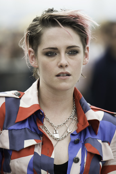 Kristen Stewart channeled her inner rock star with this messy cut at the 2019 Deauville American Film Festival.