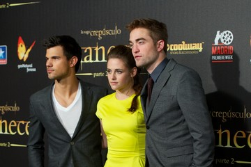 Kristen Stewart Robert Pattinson 'Breaking Dawn - Part 2' Madrid Premiere