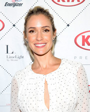 Kristin Cavallari hosted a New York Fashion Week event sporting a casual ponytail.