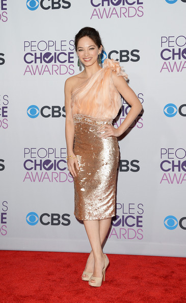 Kristin Kreuk Beaded Dress