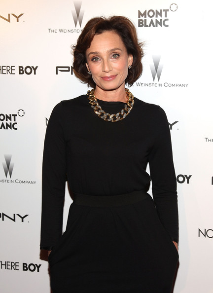 Kristin Scott Thomas Gold Link Necklace