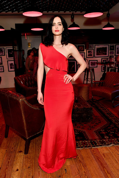 Krysten Ritter Cutout Dress