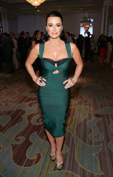 Kyle Richards Evening Pumps [clothing,fashion model,dress,fashion,shoulder,cocktail dress,fashion design,formal wear,leg,haute couture,kyle richards,actress,impact awards,beverly wilshire hotel,california,beverly hills,family equality council]