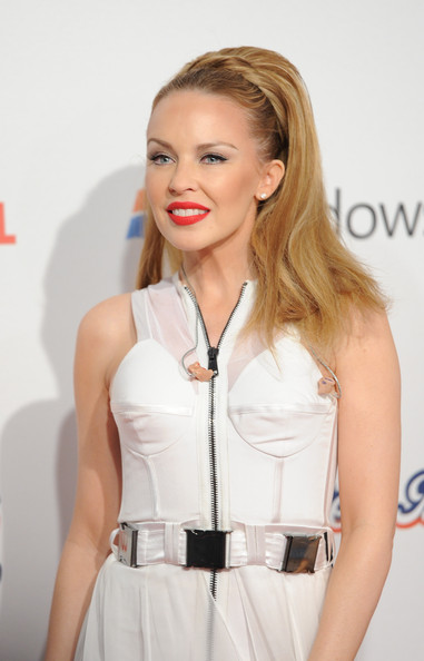 Kylie Minogue Red Lipstick