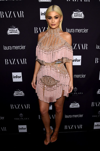 Kylie Jenner Fringed Dress