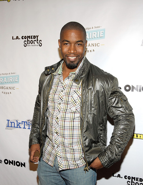 More Pics of Michael Jai White Bomber Jacket (1 of 4) - Michael Jai White Lookbook - StyleBistro