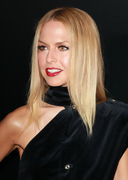 Rachel Zoe wore her hair ultra-straight and shiny at a benefit for Homeless Youth Services.