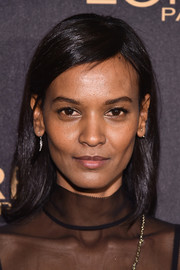 Liya Kebede topped off her look with a simple side-parted hairstyle when she attended the L'Oreal Paris Women of Worth celebration.