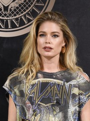 Doutzen Kroes was rocker-chic with this teased hairstyle at the L'Oreal x Balmain party.
