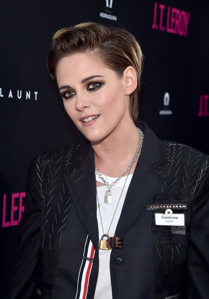 Kristen Stewart's hair looked neater than usual at the premiere of 'JT LeRoy.'