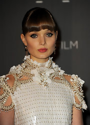 Bella looked darling with her face fringe in full force at the Gucci soiree.