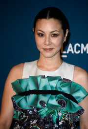 China Chow pulled her long hair back in a simple center-parted ponytail for the LACMA Art + Film Gala.