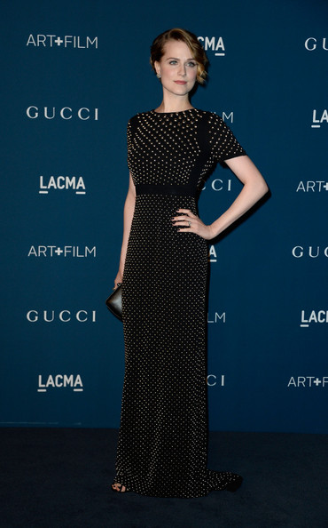 More Pics of Evan Rachel Wood Evening Dress (1 of 8) - Evening Dress Lookbook - StyleBistro