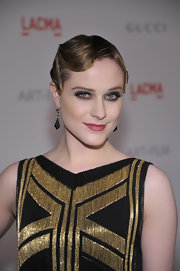 Evan Rachel Wood did a sultry, smoky eye to complement her 20s-inspired finger wave at the 2011 LACMA Art and Film gala.