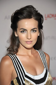 Camilla Belle wore her hair in a voluminous half-up 'do at the 2011 LACMA Art and Film gala.
