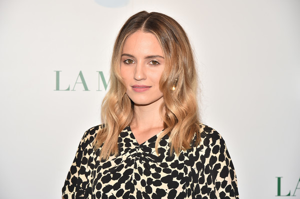 Dianna Agron looked lovely with her wavy 'do at the La Mer by Sorrenti campaign.