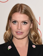 Kitty Spencer looked pretty with her center-parted wavy 'do at the 'La Traviata' VIP performance.