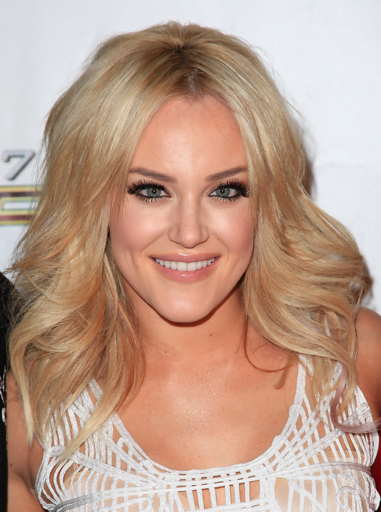 Lacey Schwimmer False Eyelashes - Lacey Schwimmer Beauty Looks ...